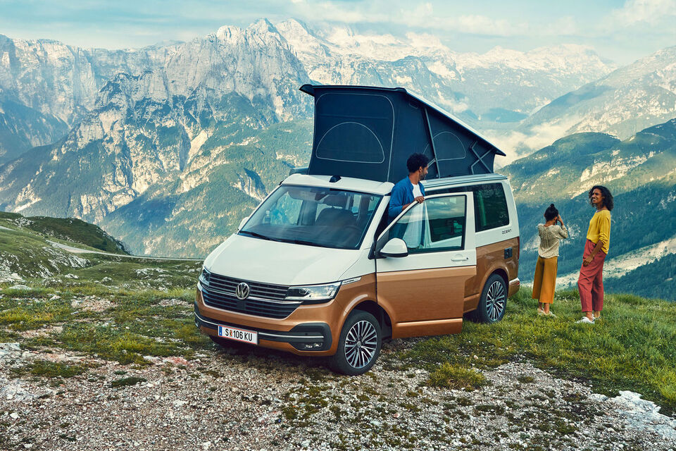 VW California 6.1 gora